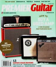 PREMIER GUITAR 2016 AUGUST THE AMP ISSUE DINOSAUR JR. GARBAGE EAST BAY RAY