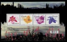 Canada 2006 Flowers Definitives Souvenir Sheet Used