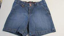 Women's Size 6 Medium Comfort Waist Band Blue Jean Shorts By Lee