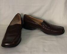 DONNA VELENTA Womens Leather Wedge Heel Loafers Shoes Size 37 New #Ebaymarket