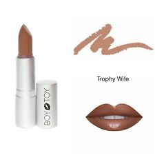 ALL NATURAL ORGANIC LIPSTICK - BOY TOY COSMETICS - 'TROPHY WIFE' nude lipstick