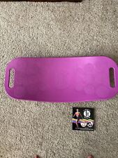 Simply Fit Board - The Workout Balance Board with a Twist As Seen on TV Magenta