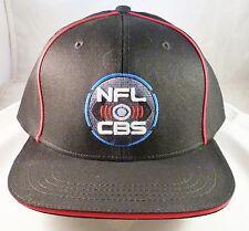 NFL on CBS SUPER BOWL 50 New Black Sports Football Hat Cap ABC NBC ESPN FOX TV!!