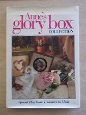 Anne's Glory Box Collection~Embroidery~Quilting~Decoupage~Smocking~Roses~Bear~HB