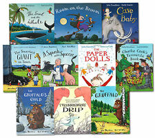 Julia Donaldson Picture Book Collection 10 Books Set The Gruffalo, Snail & Whale