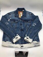 Levi's Strauss & Co Hommes Camionneur Jeans Veste Taille M
