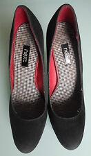 Next Women Size 5 Black Suede Heels Shoes