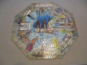 Vintage 1968 Springbok 500 Piece Okta-Puzzle New York City Complete Rare