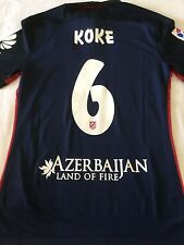 CAMISETA - KOKE - ATLETICO MADRID - Match WORN - no REAL MADRID - Trikot