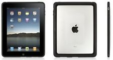 GRIFFIN Reveal Ultra Slim Shell Case for Original iPad 1 GB01619 - Clear/Black
