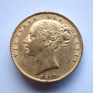 1853 Victoria Sovereign from the RMS Douro Shipwreck with Cert, box and booklet.