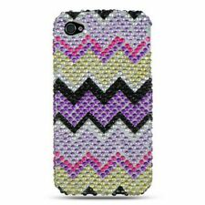 Rainbow Hard Diamond Bling Case For Apple iPhone 4/4S Colorful