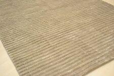 DOLCE 120x170cm viscosa lucentezza mano tufted beige sottili creste Rug