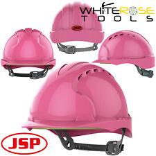 JSP Pink Hard Hat Safety Helmet PPE EN397 Womens Builders Fancy Dress Hen Night