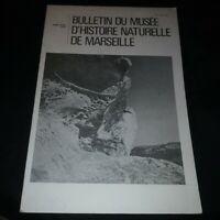 Bulletin du Musée d'histoire naturelle de Marseille Tome XXXIX 1979