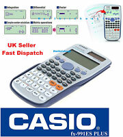CASIO FX-991ES FX991ES PLUS SCIENTIFIC CALCULATOR - for A-Level  Fast Dispatch