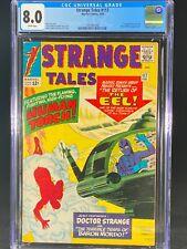 Strange Tales #117 CGC 8.0 1964 Fantastic Four Baron Mordo Doctor Strange A231