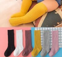 Knee Socks Newborn Infant Baby Cotton High Children Girls Boys For Age 0-4 Years