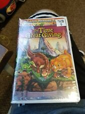 The Land Before Time III: The Time of Great Giving (VHS, 1995, Clamshell)