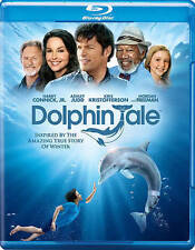 Dolphin Tale (Blu-ray) Ashley Judd, Morgan Freeman, Harry Connick Jr BRAND NEW