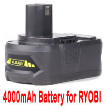 18V 4.0AH Li-ion Battery for RYOBI One Plus RB18L40 RB18L50 P108 P107 P104 P780
