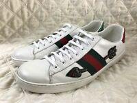 GUCCI New Ace white Beeding Arrow Sneakers size 12 G / 13 US  $730