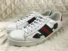 296083047 GUCCI New Ace white Beeding Arrow Sneakers size 12 G / 13 US $730