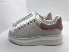Alexander McQueenWomen sneakers Size US7.5 EUR 38 Brand New Pink White