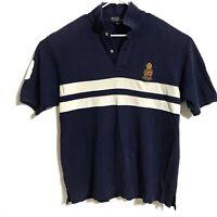 Polo Ralph Lauren Men's Blue Lion Crest 1967-1997 Rugby Jersey XL