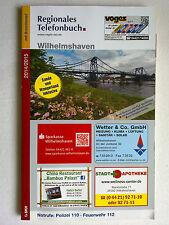 Regional telephone book 2014/2015 Wilhelmshaven