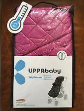 UPPAbaby BabyGanoosh - Vista Cruz Stroller Footmuff - Olivia Fuchsia Pink - NIP