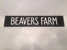"London Hounslow 227 Bus Blind  31""- Beavers Farm"