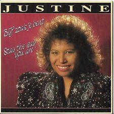 "Justine Pelmelay CD Single ""Blijf zoals je bent"" Eurovision Netherlands1989 RARE"