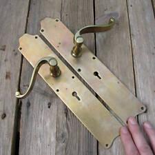Old Pair of Brass Lever Door Handles