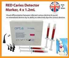 Dental Endodontico ENDO Supply, Rosso carie Rilevatore Sistema, 4 x 1.2mL
