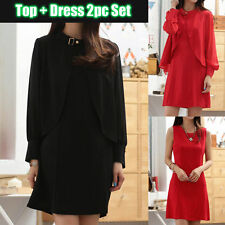 Collar Patternless Mini Casual Dresses for Women