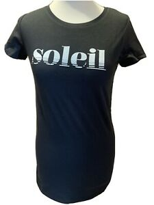 Women's Supermom Black Soleil T-shirt Size S (8-10) Sort Sleeves BNWT