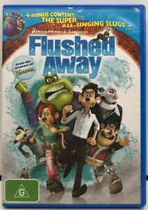 Flushed Away - Region 4 DVD - AusPost with Tracking