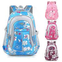 New Flower Women's Girls Backpacks Children Student School Bags Travel Rucksack
