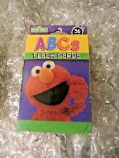 ABC Flash Cards, Learning Ages 3+ Sesame Street Friends