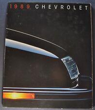 1989 Chevrolet 76pg Brochure Camaro Corvette Beretta Corsica Caprice Cavalier 89