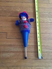 "Vintage Original Calico Critters Peek-A-Boo Puppet Clown Cone 11"" Made in USA"