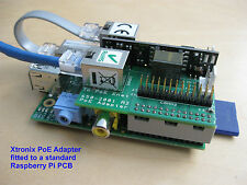 Raspberry Pi B Power Over Ethernet (PoE) Adapter