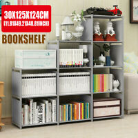 9-Cube Storage Bookshelf Closet Organizer Storage Shelves Rack Home Office Decor