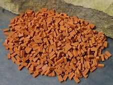 BULK BUY! 1000 1:12th Scale Miniature Dolls House Briquettes / Briquette Bricks