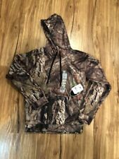 Mossy Oak Sweatshirt Country Camouflage Hooded Pullover Men's size S NWT