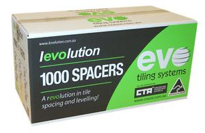 Levolution Tee Spacer - 1.5mm - 1,000 Box - Tile Spacer - tilers tiling tools