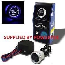 FULLY ILLUMINATED PIVOT PUSH BUTTON ENGINE START KIT ANY FIAT PUNTO ETC.