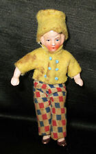 """* 3 1/2"""" Antique German Doll With Original Clothes *"""