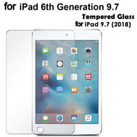 Tempered Glass Screen Protector Film for Apple iPad 9.7in 2018 6th Gen A1893 Cal